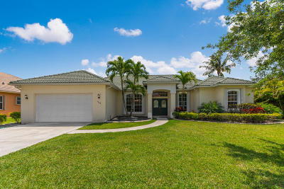 Palm City Single Family Home For Sale: 5308 SW Landing Creek Drive