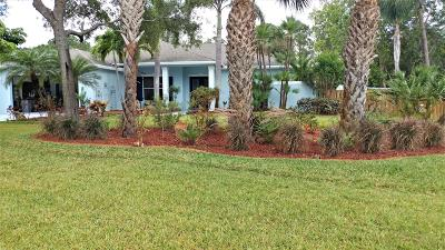Stuart Single Family Home For Sale: 3864 Jefferson Street