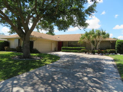 Palm Beach Gardens Single Family Home Contingent: 11939 Banyan Street