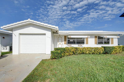Boynton Beach Single Family Home Contingent: 1710 SW 20th Street