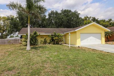 Wellington Single Family Home For Sale: 1245 Niantic Terrace