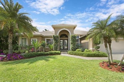 West Palm Beach Single Family Home For Sale: 8984 Lakes Boulevard