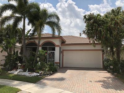 Boynton Beach Single Family Home For Sale: 8438 Siciliano Street