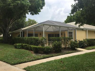 Palm Beach Gardens Single Family Home Contingent: 2603 Lakemont Court