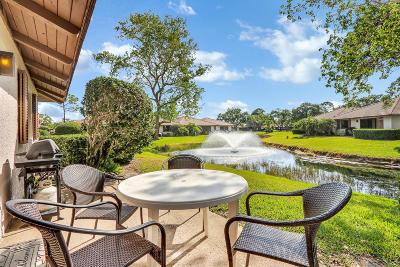 Palm Beach Gardens Single Family Home For Sale: 814 Club Drive #814