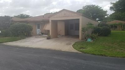 Delray Beach Single Family Home For Sale: 14742 Wildflower Lane