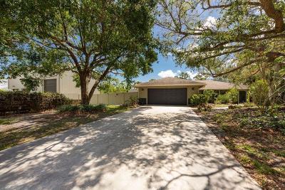 Hobe Sound Single Family Home For Sale: 8778 SE Sharon Street