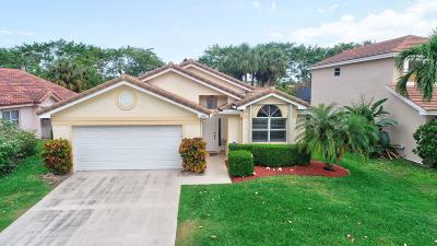 Boynton Beach Single Family Home For Sale: 8680 Tourmaline Boulevard