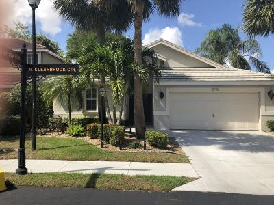 Delray Beach Single Family Home For Sale: 2895 Clearbrook Circle