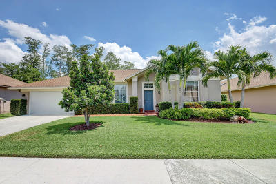 Lake Worth Single Family Home For Sale: 3604 Cypress Wood Court