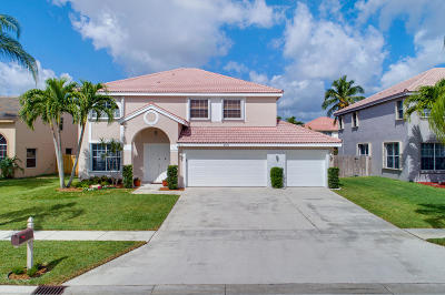 Boynton Beach Single Family Home For Sale: 8871 Cicero Drive