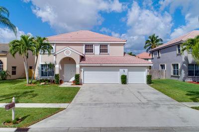 Boynton Beach Single Family Home Contingent: 8871 Cicero Drive