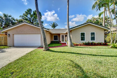 Boca Raton Single Family Home For Sale: 1430 SW 17th Street