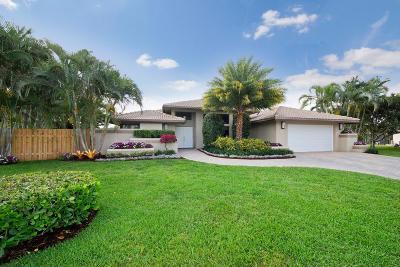 Boca Raton Single Family Home Contingent: 22491 Martella Avenue