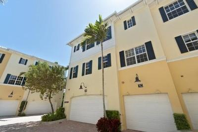 West Palm Beach Townhouse For Sale: 308 Bromeliad