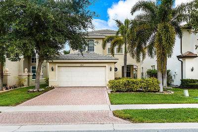 Boynton Beach Single Family Home For Sale: 8812 Sandy Crest Lane
