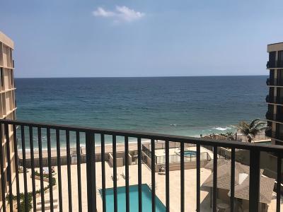 South Palm Beach Condo Contingent: 3610 S Ocean Boulevard #504