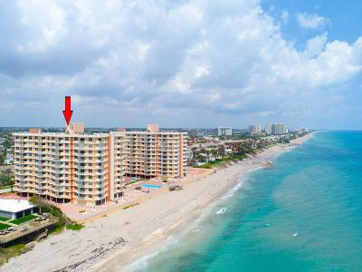Highland Beach Condo For Sale: 4511 S Ocean Boulevard #704