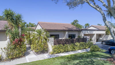 Boca Raton Single Family Home For Sale: 21788 Cypress Drive #23-A