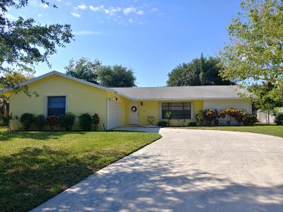 Jupiter Single Family Home For Sale: 4352 Colette Drive