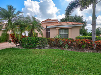 Boynton Beach Single Family Home For Sale: 12102 Tevere Drive