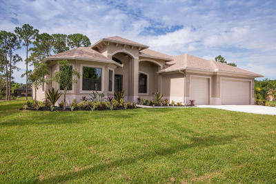 Jupiter FL Single Family Home For Sale: $810,300