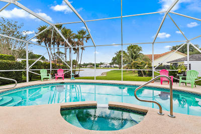 Jupiter Single Family Home Contingent: 6073 Winding Lake Drive