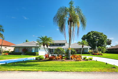 West Palm Beach Single Family Home For Sale: 6599 Eastpointe Pines Street