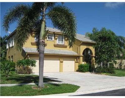 Lake Worth Single Family Home For Sale: 6464 Marbletree Lane