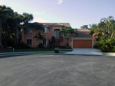 Lake Worth Single Family Home For Sale: 3668 Cypress Lake Drive