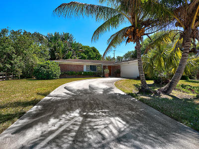 Palm Beach Gardens Single Family Home Contingent: 8003 45th Way Way