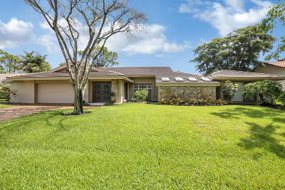 Delray Beach Single Family Home For Sale: 4534 Cocoplum Way