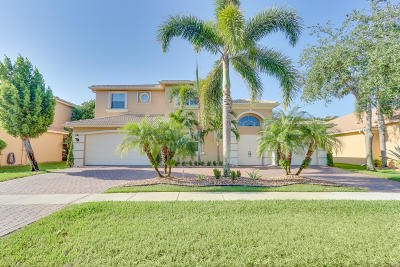 Lake Worth Single Family Home For Sale: 9530 Campi Drive
