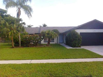 Royal Palm Beach Single Family Home For Sale: 114 Parkwood Drive