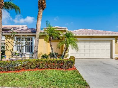 Boynton Beach Single Family Home Contingent: 3603 Newport Avenue