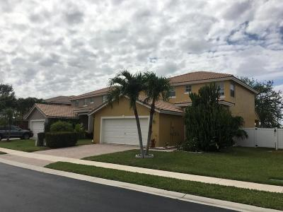 West Palm Beach Single Family Home For Sale: 3206 Turtle Cove