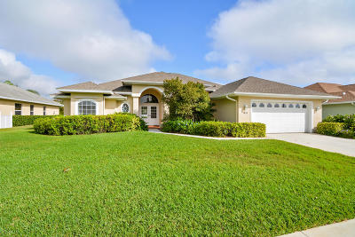 Vero Beach Single Family Home Contingent: 3820 9th Place