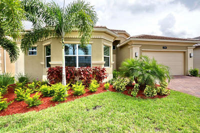 Boynton Beach Single Family Home For Sale: 12866 Granite Mountain Pass