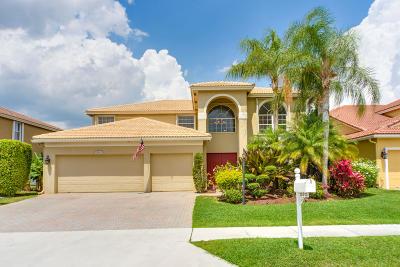 Boca Raton Single Family Home Contingent: 12613 Little Palm Lane