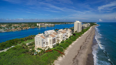 Tequesta Condo For Sale: 19670 Beach Road #B522