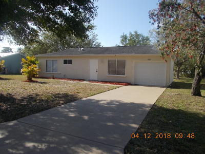 Vero Beach Single Family Home Contingent: 1865 23rd Place SW