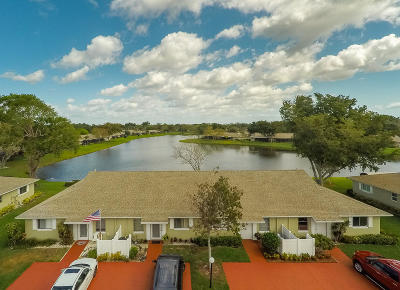 Boca Raton Single Family Home For Sale: 8827 Rheims Road #B