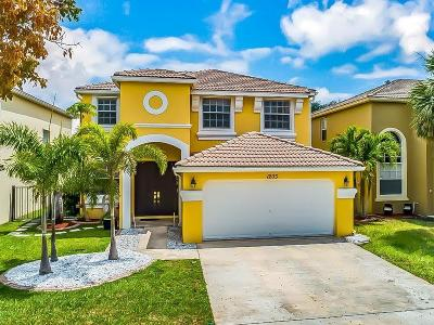 Royal Palm Beach Single Family Home For Sale: 1203 Oakwater Drive