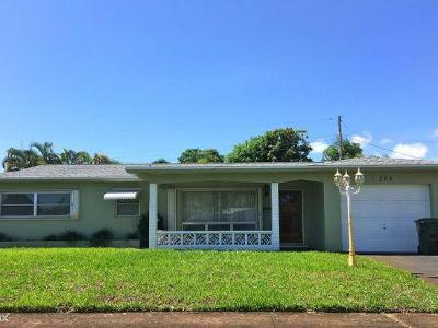 Boca Raton Single Family Home For Sale: 284 SW 5th Street