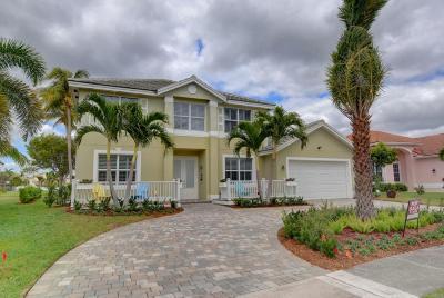 Lake Worth Single Family Home For Sale: 7089 Catalina Isle Drive