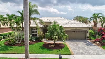 Boca Raton Single Family Home For Sale: 12235 Rockledge Circle