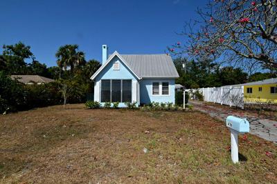 Stuart Single Family Home For Sale: 416 SE Hibiscus Avenue