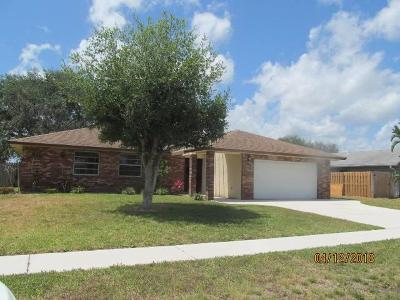 Royal Palm Beach Single Family Home For Sale: 158 Cordoba Circle