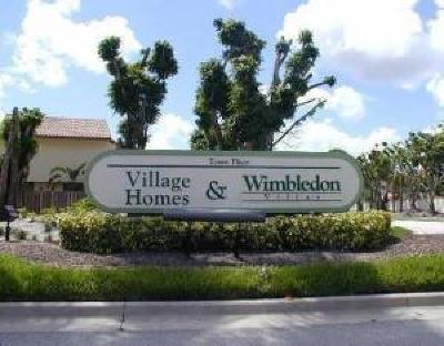 Boca Raton Condo For Sale: 5719 Fox Hollow Drive #A