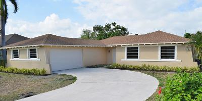 West Palm Beach Single Family Home For Sale: 2702 Starwood Court